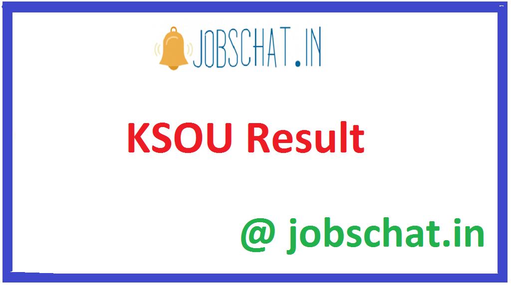KSOU Result