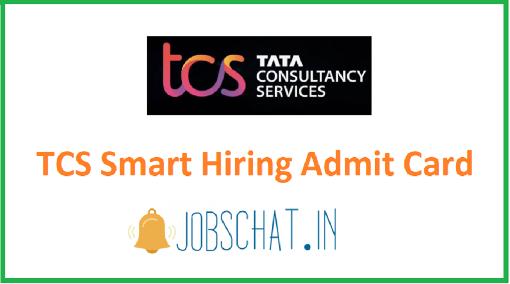 TCS Smart Hiring Admit Card