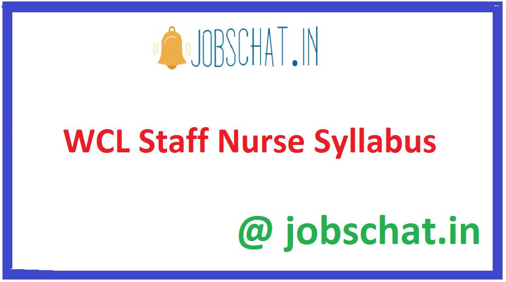 WCL Staff Nurse Syllabus