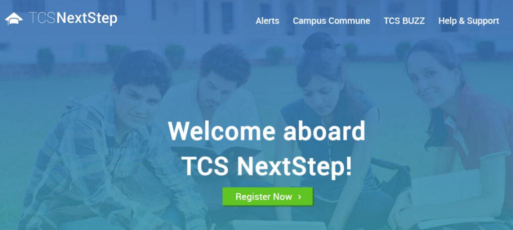 TCS Next Step Registration