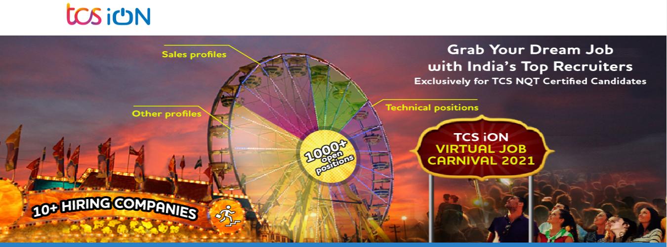 TCS iON Virtual Job Carnival